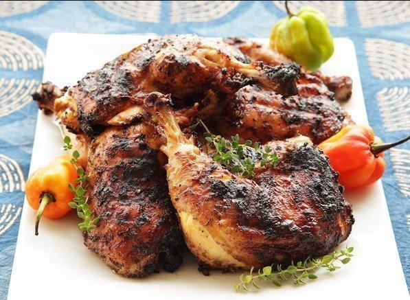 Ebony Jerk Chicken 3 Course Dining Experience (2-3 Servings)