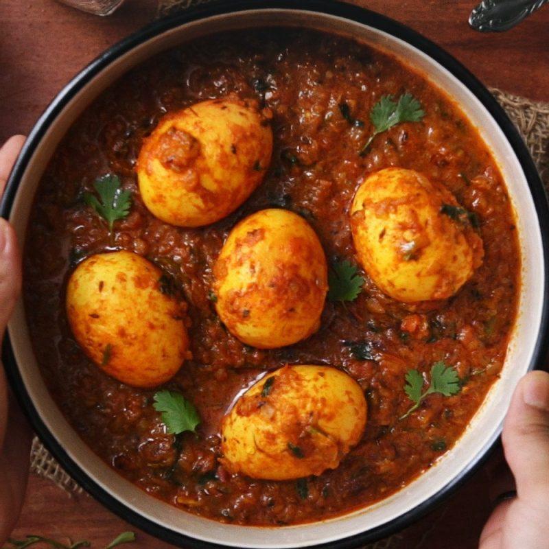 Indian Egg Meals