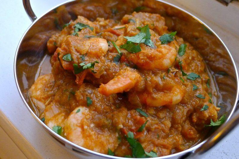 Shrimp Curry Meals